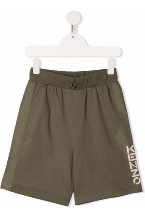Kenzo Side-logo print shorts