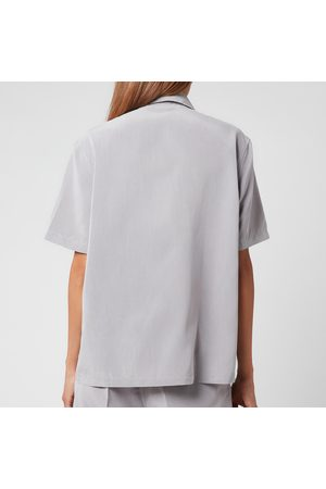OUR LEGACY Women's Short Sleeve Square Shirt
