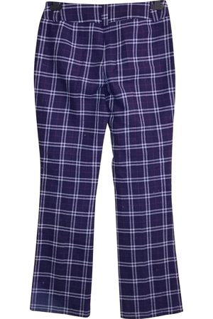 Dolce & Gabbana Polyester Trousers