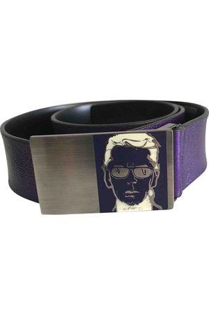 Karl Lagerfeld Leather Belts