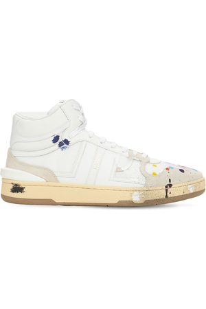 GALLERY DEPT X LANVIN Men Sneakers - Painted High Leather Sneakers