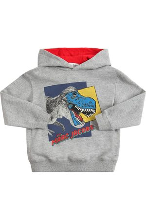 Marc Jacobs Printed Cotton Sweatshirt Hoodie