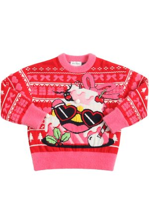 Marc Jacobs Girls Sweaters - Christmas Jacquard Knit Sweater