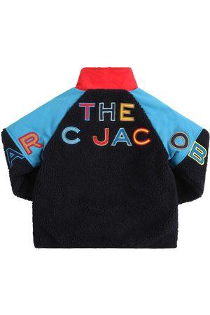 Marc Jacobs Boys Jackets - Logo Faux Shearling Jacket