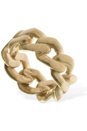 Maison Margiela Men Rings - Chained Band Ring