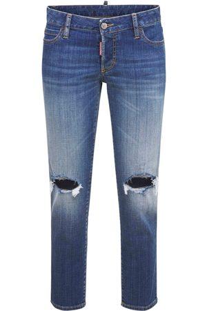 Dsquared2 Jennifer Cropped Cotton Jeans