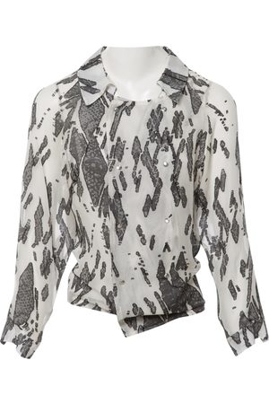 Anthony Vaccarello Silk Tops