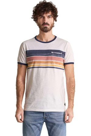 Salsa With Stripes On Chest Short Sleeve T-shirt M