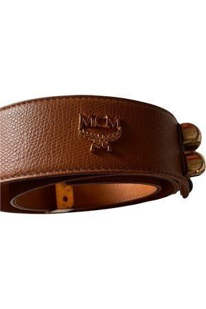 MCM Leather Belts