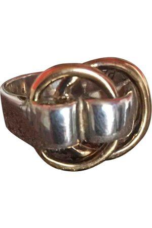 Hermès White gold Rings