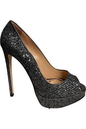 Marchesa Leather Heels