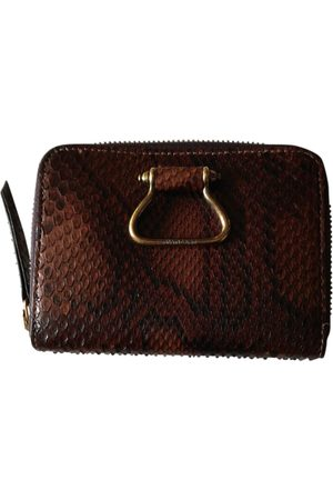 Roberto Cavalli Leather clutch