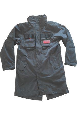 Jordan Men Coats - Anthracite Cotton Coat