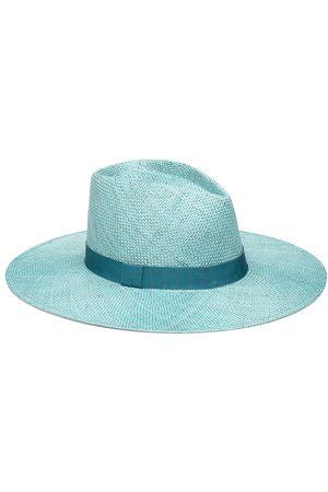EUGENIA KIM Women's Harlowe Fedora Hat - Teal
