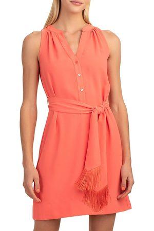 Trina Turk Women's Anemones Sleeveless V-Neck Dress - Sunset Soiree - Size XL