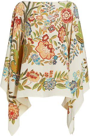 Etro Women's Classico Floral Poncho