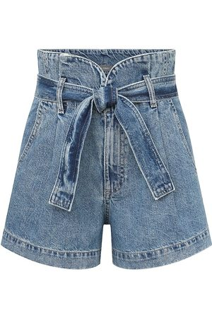Dl 1961 Women's Camile Paperbag Shorts - Skylight - Size 30