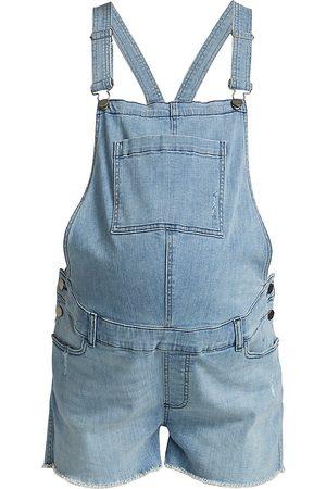 DL1961 Women Denim Jackets - DL1961 Premium Denim Maternity Abigail Denim Overalls