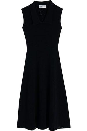Victoria Beckham Women's Sleeveless Midi Dress - - Size XS