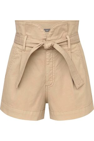 Dl 1961 Women's Camile Belted Shorts - Sand Bank - Size 29