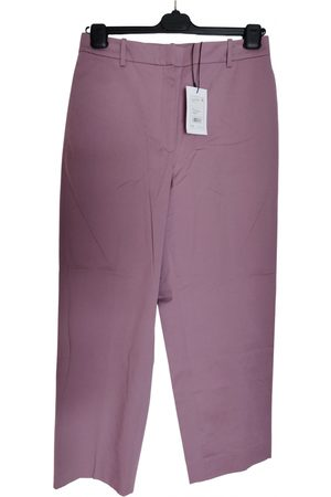 THEORY Cotton Trousers