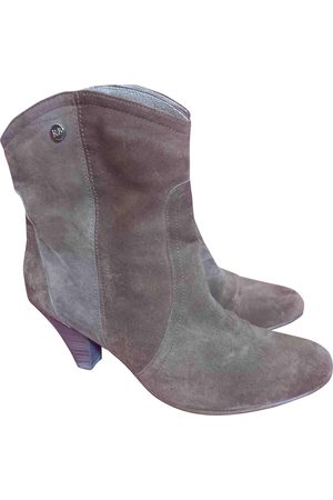 RUSSELL & BROMLEY Suede Ankle Boots