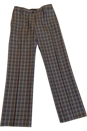 Alberto Biani Women Straight Leg Pants - Wool straight pants