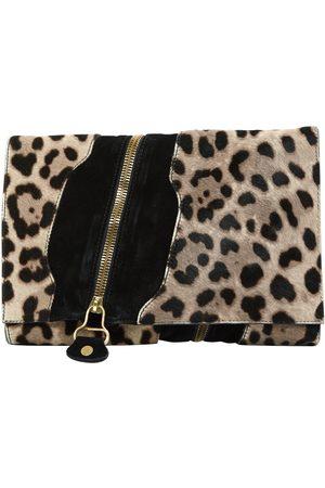 Jimmy Choo Pony-style calfskin clutch bag