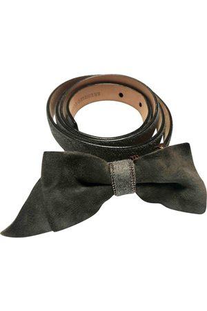 Brunello Cucinelli Suede Belts