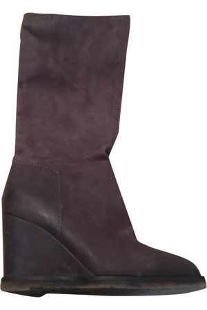 Roberto Coin Leather Boots