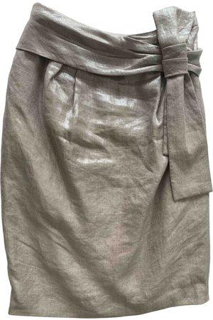 Alexander McQueen Linen Skirts