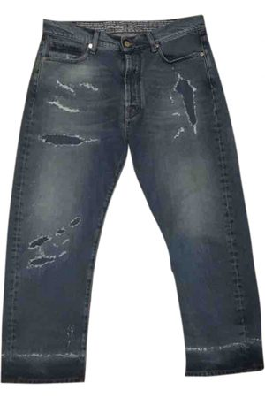 MARCELO BURLON Men Straight - Straight jeans