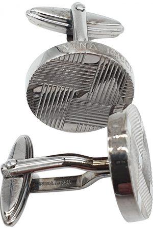 Nina Ricci Steel Cufflinks