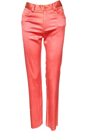 Diane von Furstenberg Synthetic Trousers