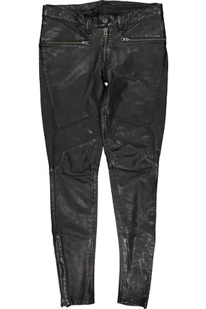 Levi's Women Leather Pants - Leather trousers