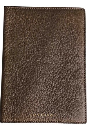 SMYTHSON Leather Small Bags\, Wallets & Cases