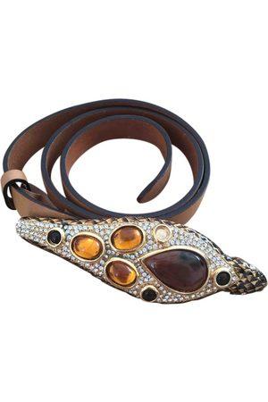 Roberto Cavalli Leather Belts