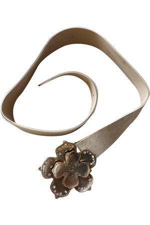 Roberto Cavalli Suede Belts