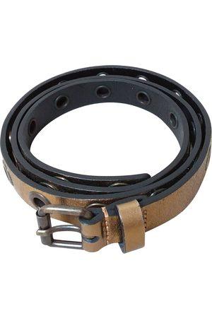 Maje Patent leather Belts