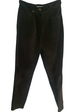 Dior Leather Trousers
