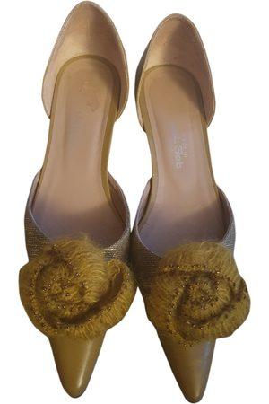 JET SET Leather Ballet Flats
