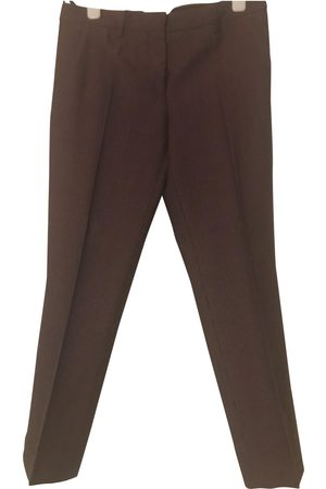 Miu Miu Wool Trousers