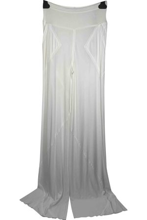 RICK OWENS LILIES Viscose Trousers