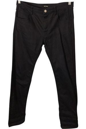 RAF SIMONS Cotton - elasthane Jeans