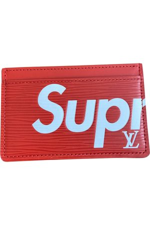 Supreme Leather Small Bags\, Wallets & Cases