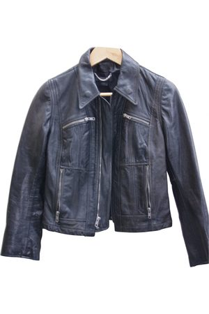 Genetic Denim Leather Leather Jackets