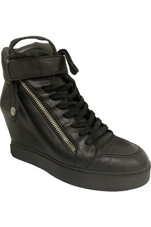 ASHISH Leather Ankle Boots