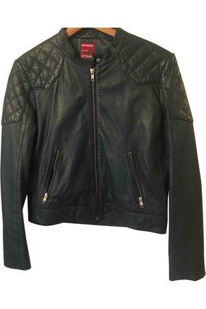Bensimon Leather biker jacket