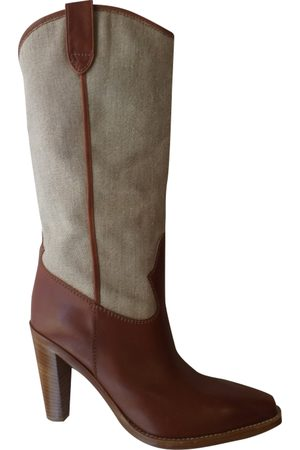 Fratelli Rossetti Leather cowboy boots