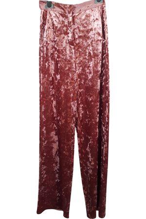 WEILI ZHENG Velvet Trousers
